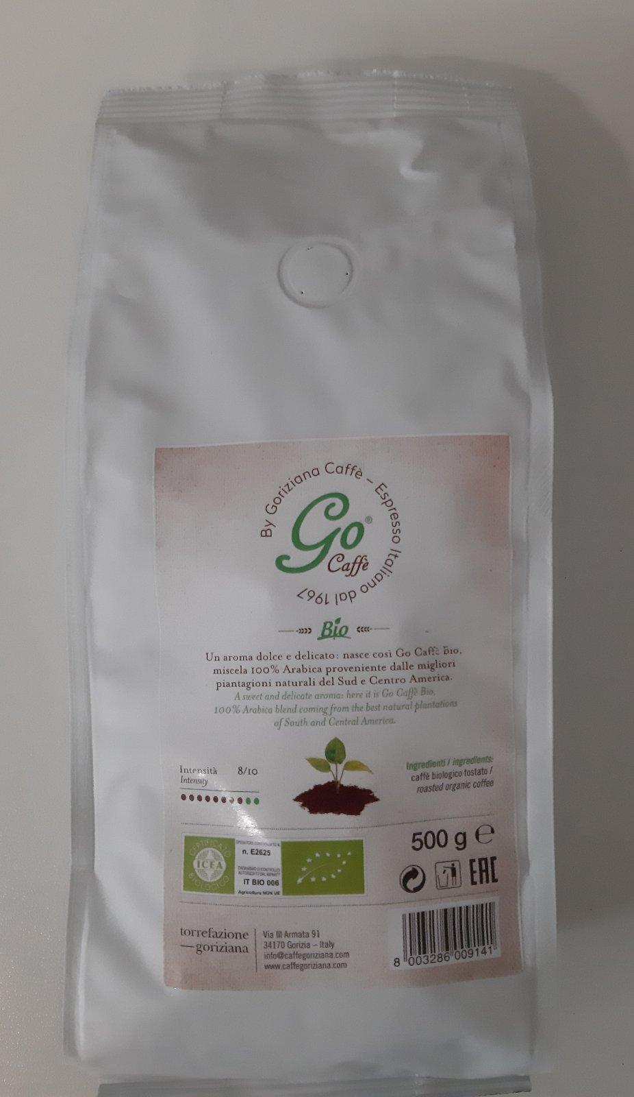 Еспресо Го кафе Био Горицијана 500 гр