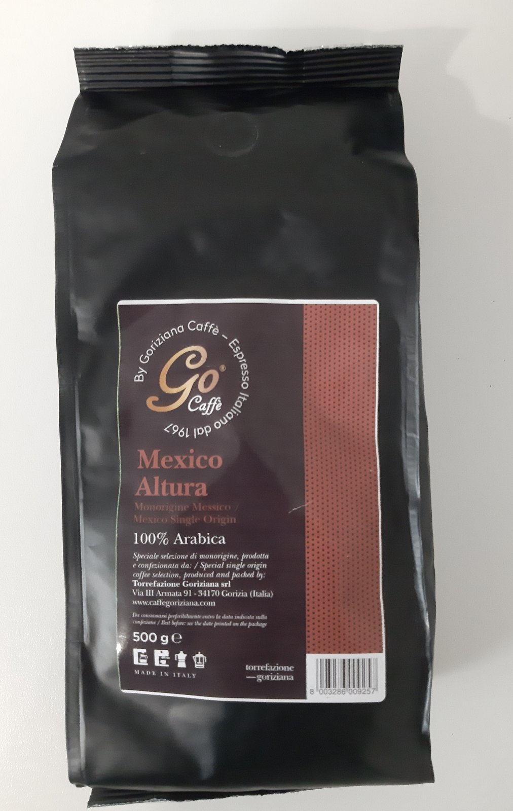 Еспресо Го кафе Мексико 100 % Арабика 500 гр